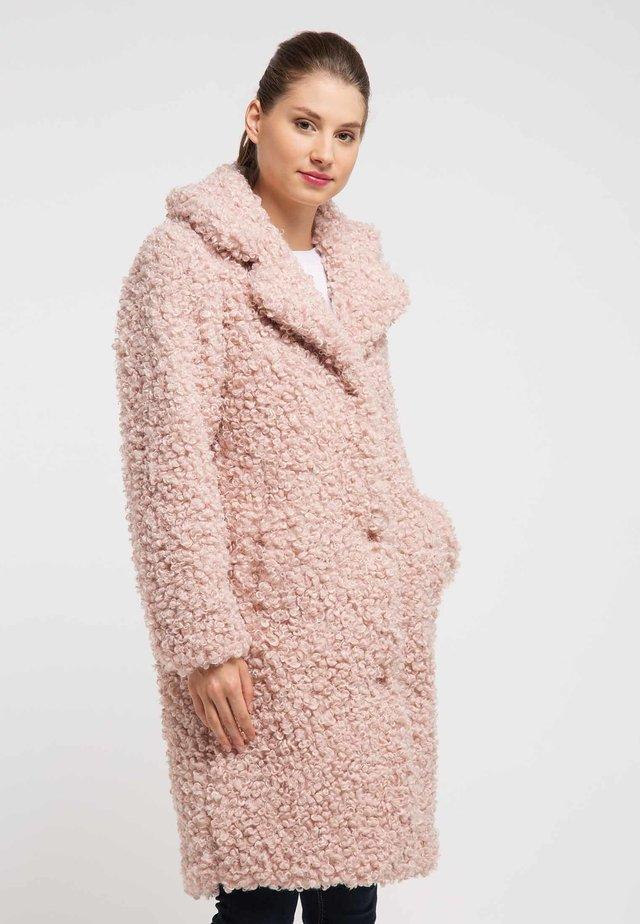 MANTEL - Winterjas - light pink