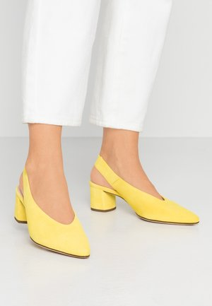 Klassieke pumps - limone