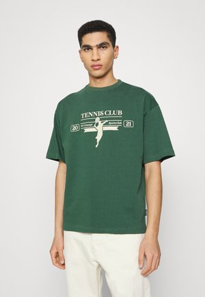 RACKET UNISEX  - T-shirt print - dark green