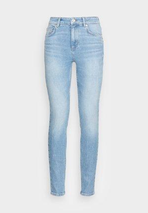 TROUSER  HIGH WAIST - Skinny džíny - blue