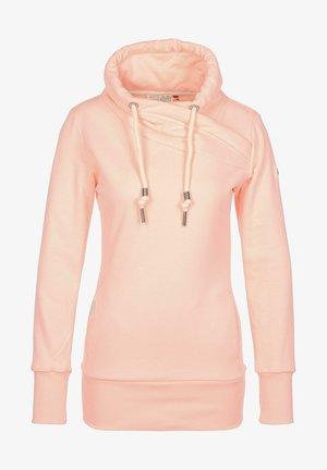 Sweatshirt - light peach