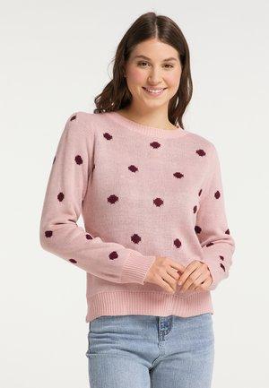 Sweater - rosa bordeaux