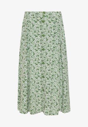SIGRID SKIRT - Áčková sukně - green