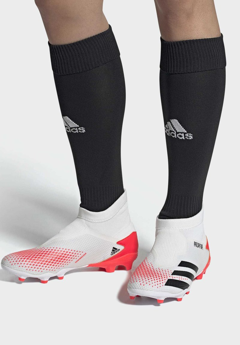 adidas Performance - PREDATOR 20.3 FIRM GROUND BOOTS - Moulded stud football boots - white