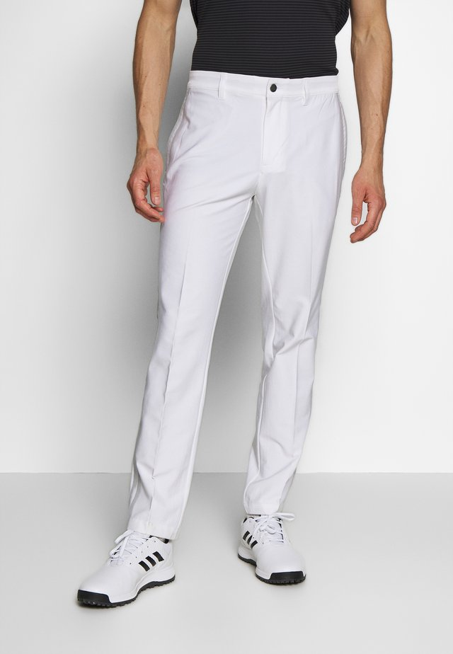 Trousers - white/grey