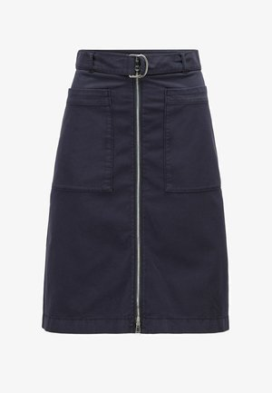 A-line skirt - open blue