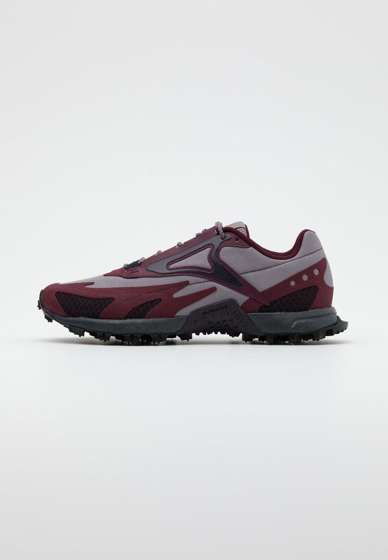 Reebok - AT CRAZE 2.0 - Trail running shoes - grape/grey/maroon/black