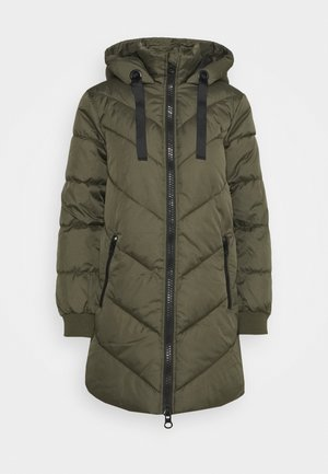 JDYSKYLAR PADDED HOOD JACKET - Vinterkåpe / -frakk - forest night