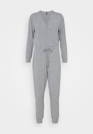 PCLIPPER LOUNGE - Jumpsuit - light grey melange