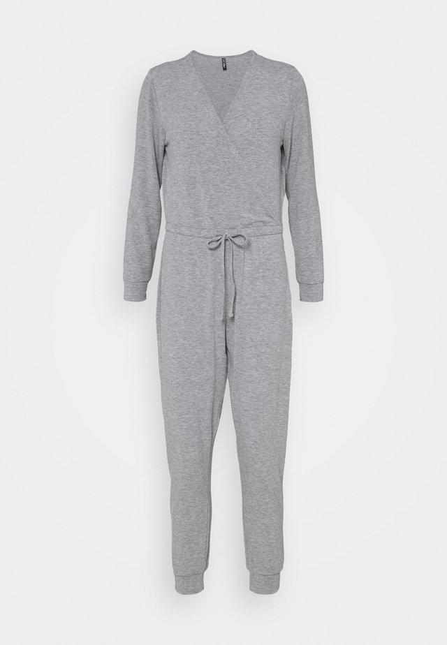 PCLIPPER LOUNGE - Jumpsuit - light grey melange