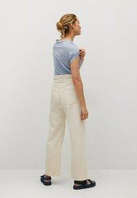 Mango - LISINO - T-shirt basique - hemelsblauw - 2