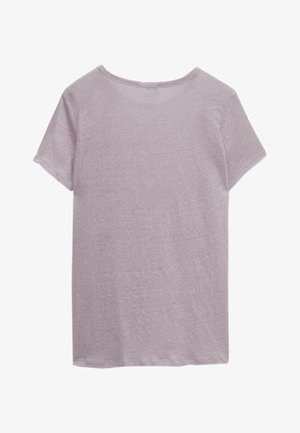 Basic T-shirt - dark purple