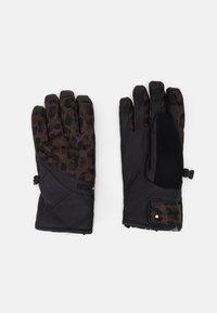 Rojo - TASK SHORT CUFF GLOVE - Gloves - marron - 0