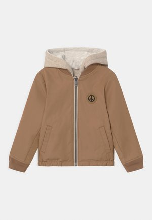 BLOUSON - Light jacket - sienne/beige chiné