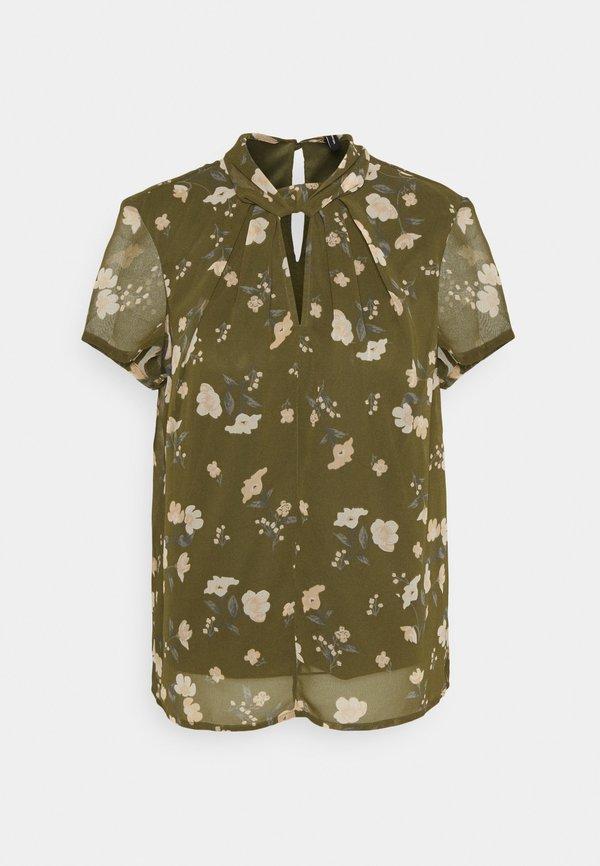 Vero Moda VMZALLIE - T-shirt z nadrukiem - ivy green/zallie/ciemnozielony JHKX