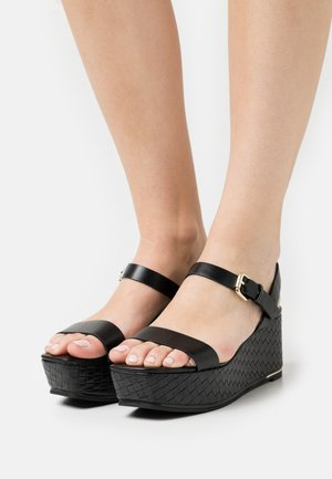 ELOINIEL - Platform sandals - black