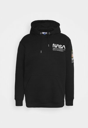 NASA HOOD - Felpa - black
