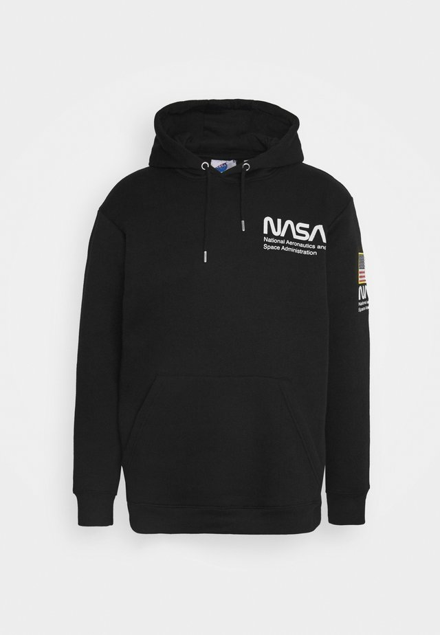NASA HOOD - Sweatshirt - black