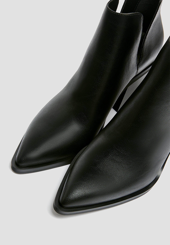 Scarpe da donna PULL&BEAR MIT CUT-OUTS Stivaletti con tacco black
