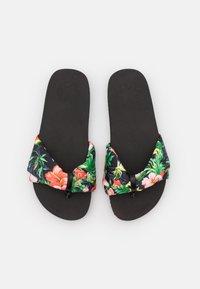 flip*flop - POOLY TROPICS - T-bar sandals - black - 5