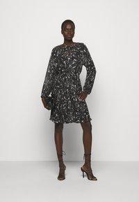 MAX&Co. - RAFIA - Day dress - black - 1