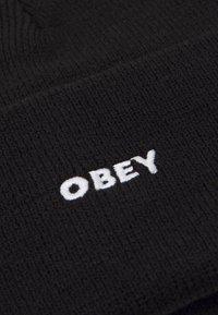 Obey Clothing - FLUID BEANIE UNISEX - Beanie - black - 2