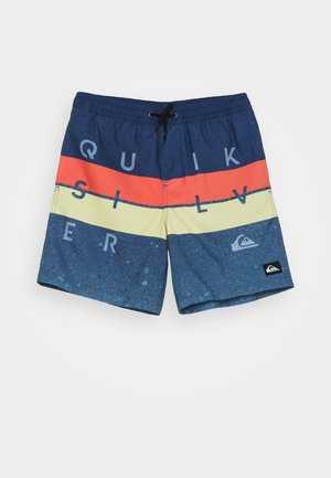 WORD BLOCK VOLLEY YOUTH - Swimming shorts - true navy