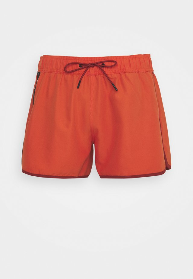 DEND TAPE SWIM - Swimming shorts - acid orange