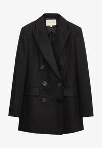 Massimo Dutti - Short coat - black - 3