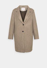 ONLY Carmakoma - CARCARRIE BONDED COAT - Classic coat - caribou melange - 4