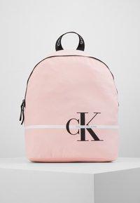 Calvin Klein Jeans - MONOGRAM STRIPE BACKPACK - Batoh - pink - 0
