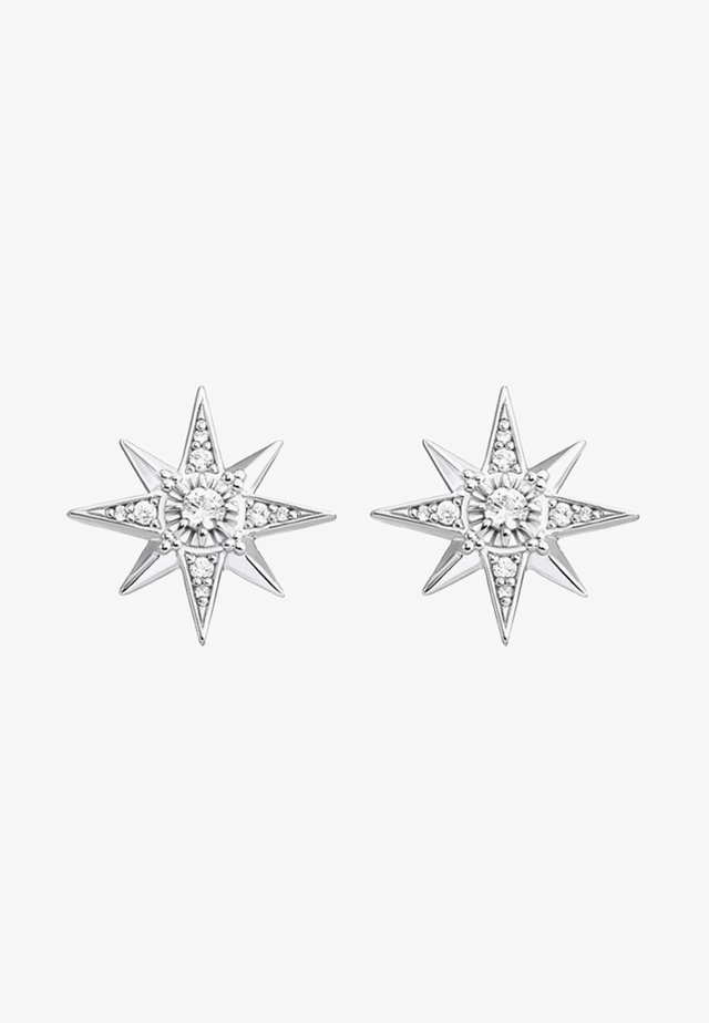 Earrings - white/silver-coloured