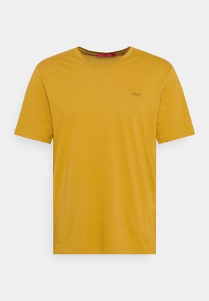 DERO - Jednoduché triko - yellow