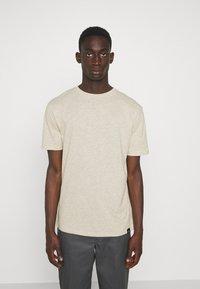 Newport Bay Sailing Club - CORE 3 PACK - T-shirt - bas - ecru/ashley blue/white - 1