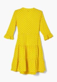 s.Oliver - Korte jurk - yellow aop - 1