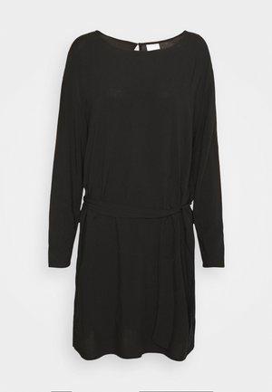 VISAY TIE BELT DRESS - Day dress - black