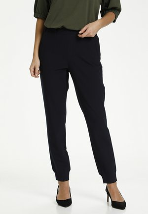Trousers - mottled black