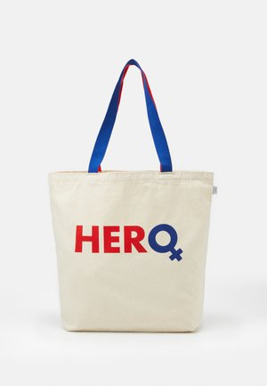 HERO TOTE BAG - Sports bag - natural