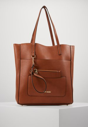 SET - Shopping bag - cognac