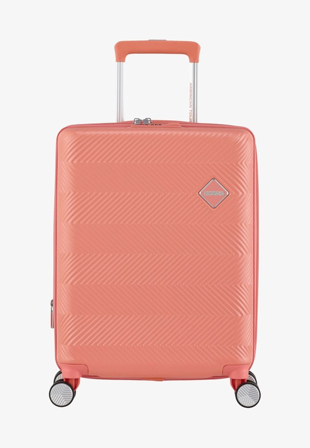 FLYLIFE - Wheeled suitcase - coral pink