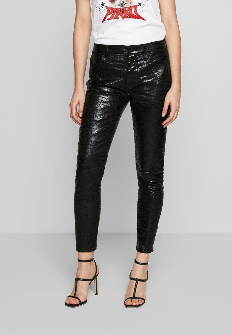 Frame Denim - LE HIGH CROC - Jeans Skinny - noir