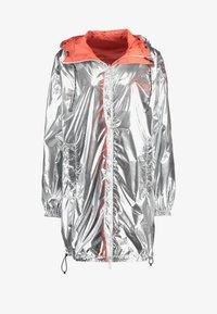 Replay - Short coat - sliver/orange - 7