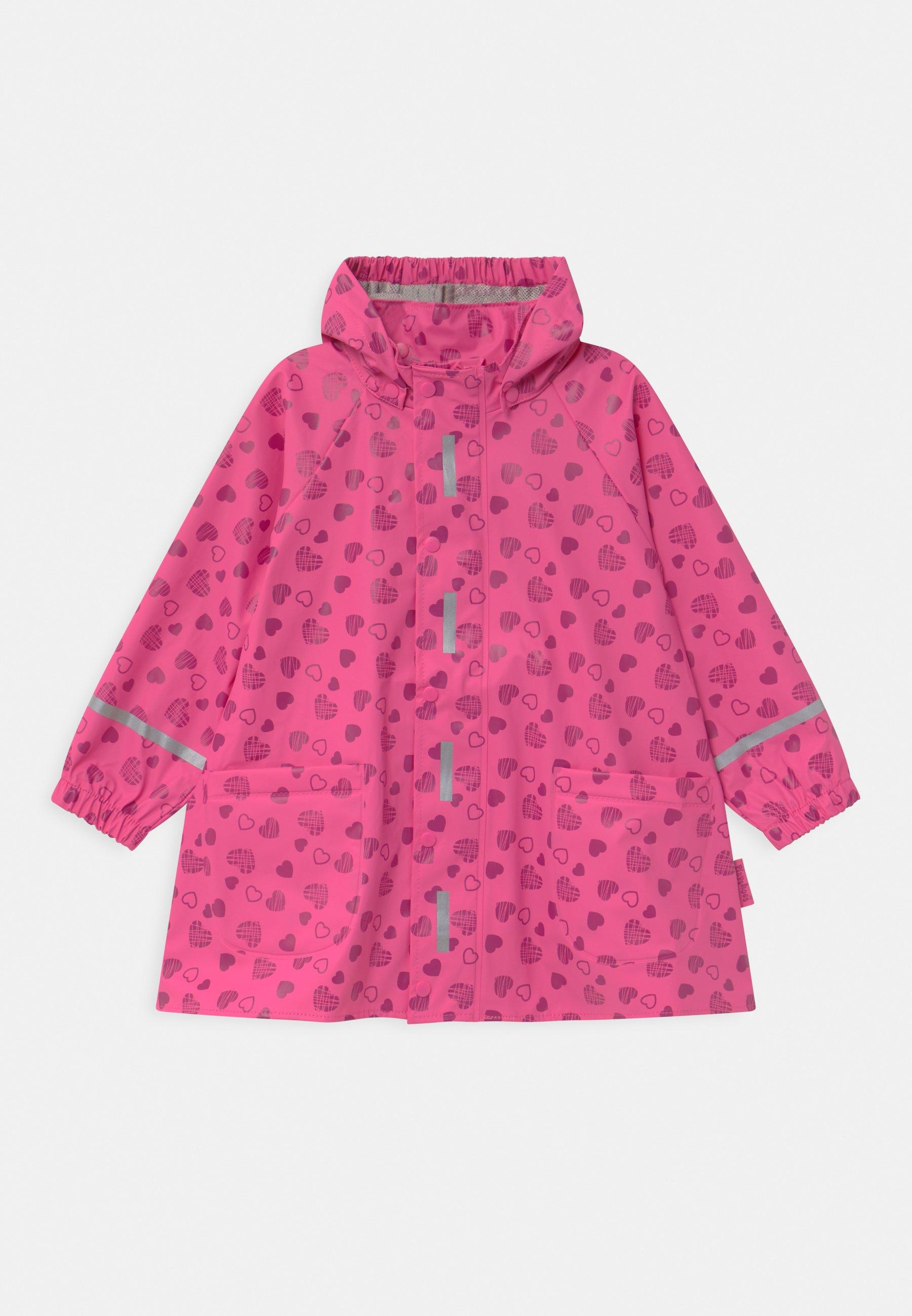 Kinder HERZCHEN - Regenjacke / wasserabweisende Jacke
