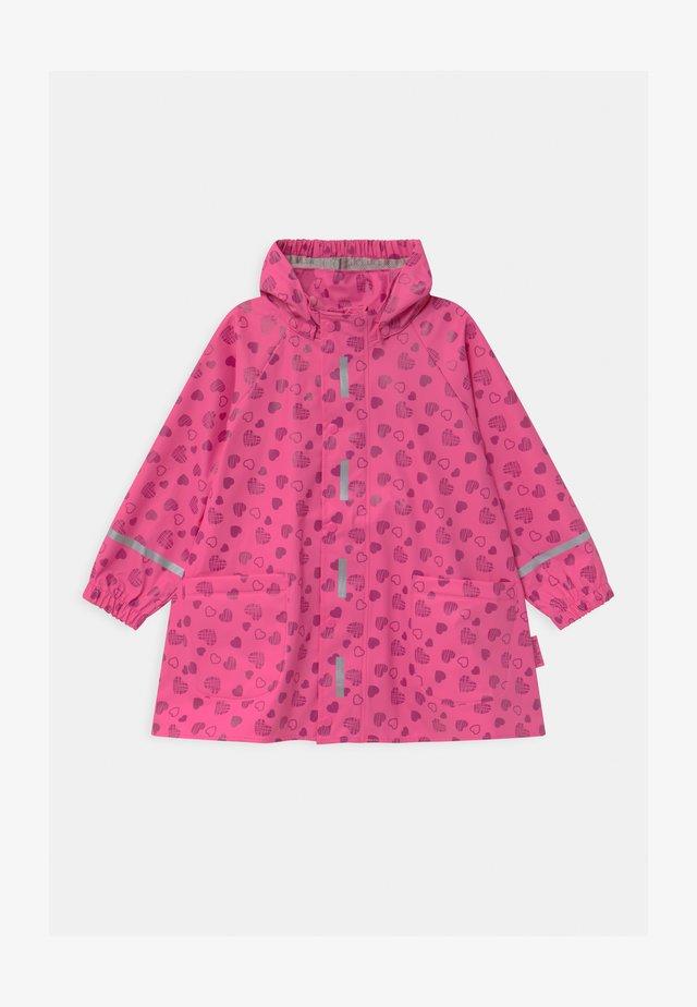 HERZCHEN - Vodotěsná bunda - pink
