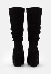 Steven New York - MELODY - Vysoká obuv - black - 3