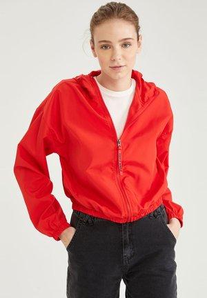 Summer jacket - red