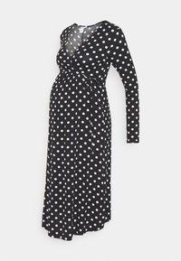 Lindex - DRESS MOM KAJSA - Žerzejové šaty - black - 0