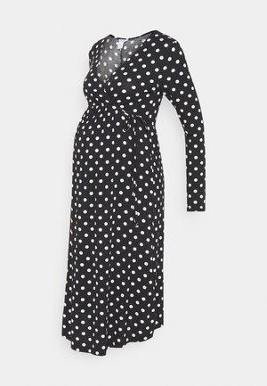 DRESS MOM KAJSA - Jersey dress - black