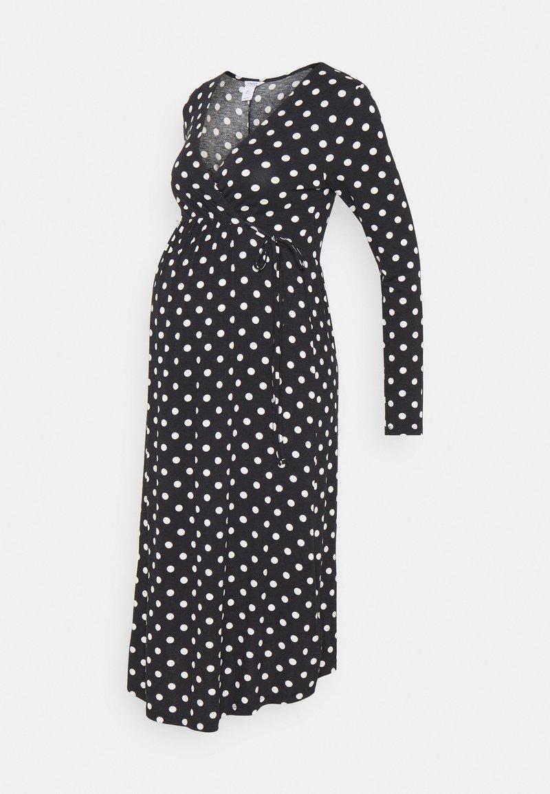 Lindex - DRESS MOM KAJSA - Žerzejové šaty - black
