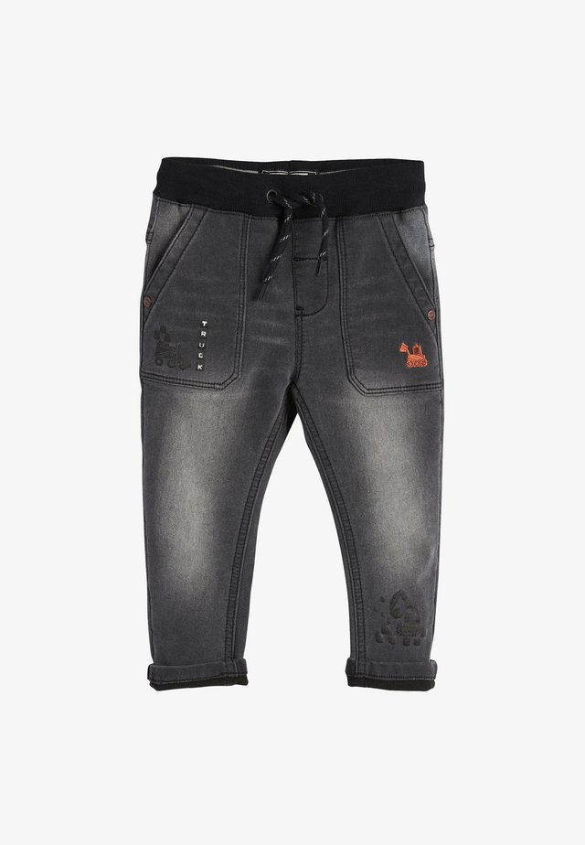 DIGGER PULL-ON  - Jean droit - grey